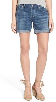 Women's Citizens Of Humanity 'Skyler' Cutoff Denim Shorts $168 thestylecure.com