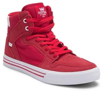 Supra Vaider Suede Leather Hi-Top Sneaker