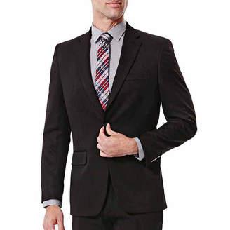 Haggar Travel Performance Stria Classic Fit Suit Jacket - Big & Tall