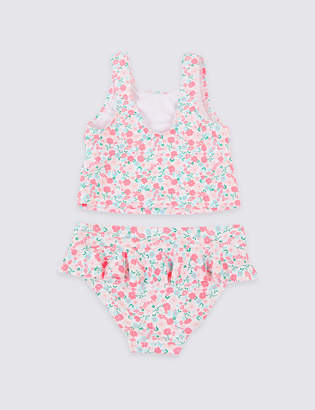 Marks and Spencer Tankini Set with Sun Smart UPF50+ (3 Months - 7 Years)