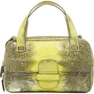 Marc Jacobs Yellow Leather Handbag