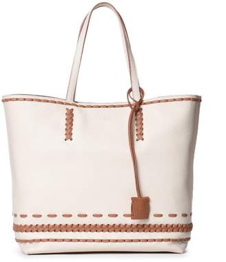 Tod's Woven Detail Tote Bag