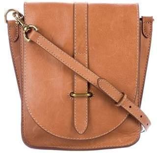 Frye Leather Flap Crossbody Bag