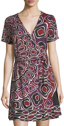 Julie Brown Marlina Jersey Wrap Dress
