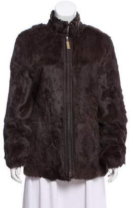 St. John Reversible Fur Jacket