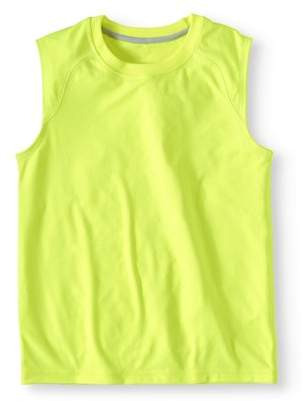 Athletic Works Boys' Sleeveless Muscle T-Shirt