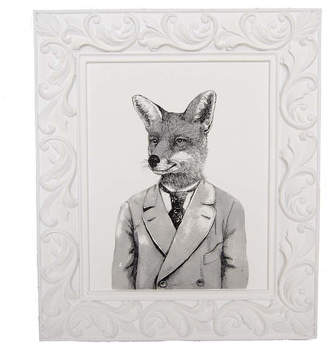 Wayfair Fox Framed Print