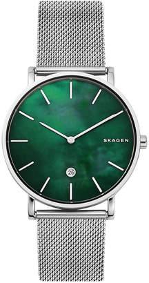 Skagen Men's Hagen Slim Stainless Steel Mesh Bracelet Watch 40mm