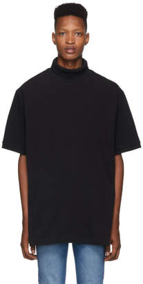 Vetements Black Polo Turtleneck