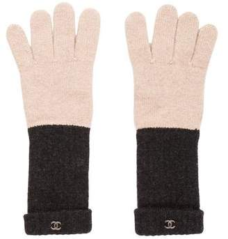 Chanel CC Cashmere Gloves