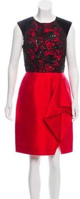 Jason Wu Embellished Silk Dress
