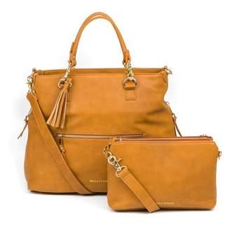 Baby Essentials Bella Tunno BOSS BAG DIAPER BAG BACKPACK, COGNAC