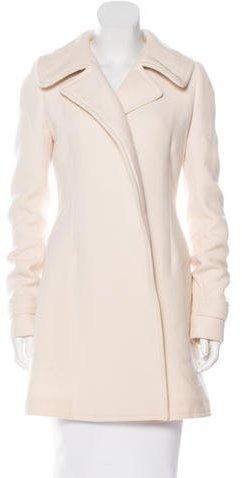 Balenciaga Balenciaga Wool and Mohair-Blend Coat