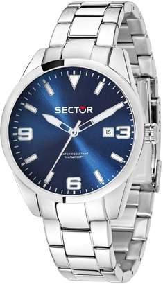 Sector Men's 41mm Steel Bracelet & Case Quartz Blue Dial Watch 3253486007