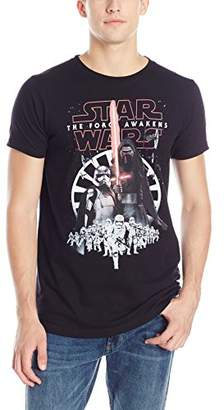 Star Wars Men's The Force Awakens New Menace First Army Kylo Ren Trooper T-Shirt