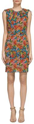 Whistles Sicilly Silk-Blend Dress $339 thestylecure.com