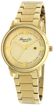 Kenneth Cole Ladies Gold Stainless Steel Bracelet Watch Kc4793