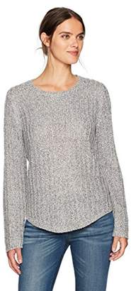 Jones New York Women's Easy Fit Pullover with Shirtail Hem