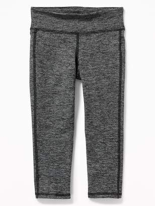 Old Navy Mid-Rise Go-Dry Micro-Stripe Cropped Leggings for Girls