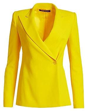 Ralph Lauren Women's Belinda Double-Breasted One Button Blazer