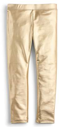 J.Crew crewcuts by crewcuts by J. Crew Metallic Leggings