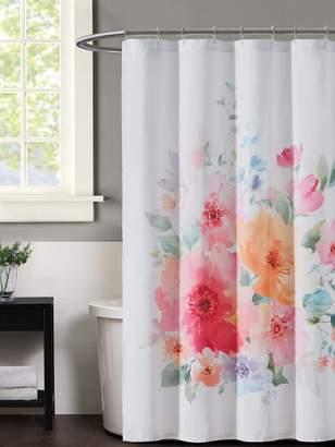Christian Siriano New York Bold Floral Shower Curtain