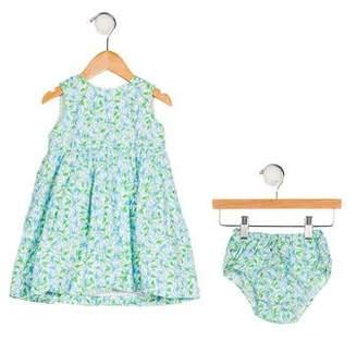 Lilly Pulitzer Girls' Floral Print Dress Set
