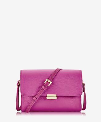 GiGi New York Catherine Crossbody, Azalea Pink Pebble Grain Leather
