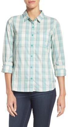 Women's The North Face Sunblocker Twill Shirt $60 thestylecure.com