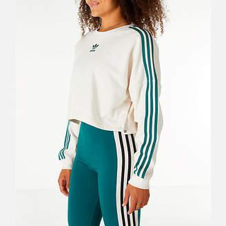 adidas Women's Adibreak Cropped Sweatshirt