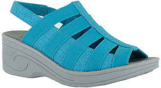 Easy Street Shoes Floaty Womens Wedge Sandals
