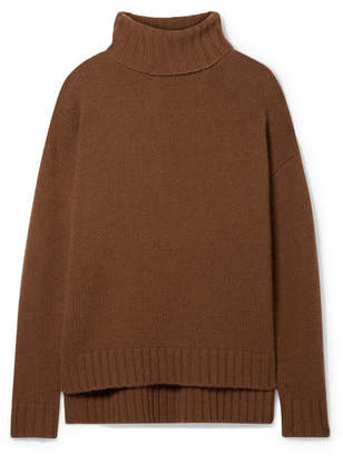 Nili Lotan Brently Oversized Cashmere Turtleneck Sweater