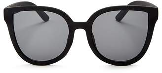 Quay Paradiso Oversized Cat Eye Sunglasses, 57mm $50 thestylecure.com