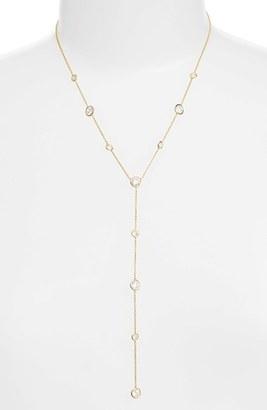Women's Nadri Bezel Y Necklace $85 thestylecure.com