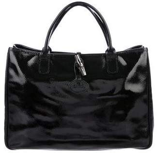Longchamp Patent Leather Tote