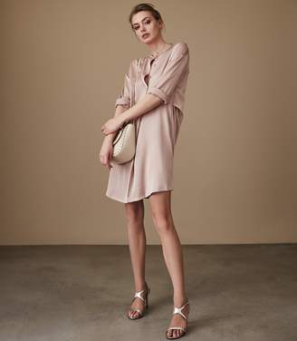 Reiss Maribel Oversized Shirt Dress