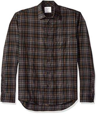 Billy Reid Men's Standard Fit Button Down John T Shirt