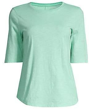 Eileen Fisher Women's Elbow Sleeve T-Shirt