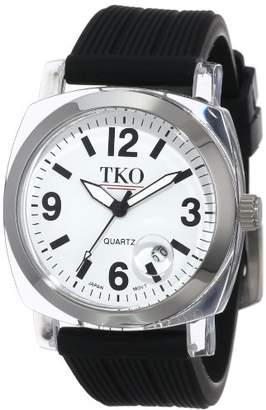 TKO ORLOGI Women's TK558-WB Milano Junior Acrylic Case White Dial Watch