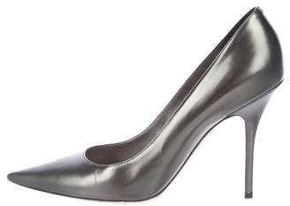 Christian Dior Patent Leather Pointed-Toe Pumps