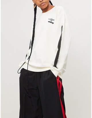 Boy London Fake cotton-jersey sweatshirt