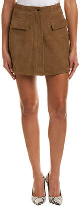 Reiss Marina Suede Mini Skirt