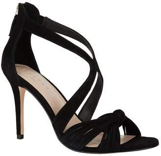 Sandro Suede Twist Sandals 100