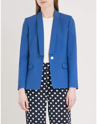 Claudie Pierlot Slim-fit wool-blend blazer