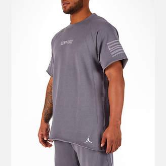 Nike Men's Jordan Sportswear AJ11 Wings Short-Sleeve Crew Shirt