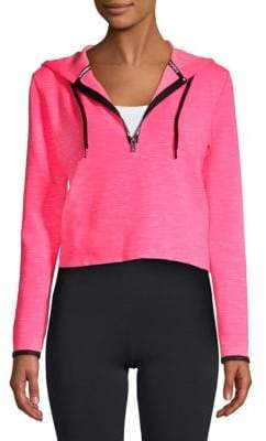 Superdry Gymtech Luxe Cropped Hoodie