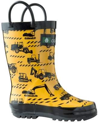 Timberland Oakiwear Children's Rubber Rain Boots, 11
