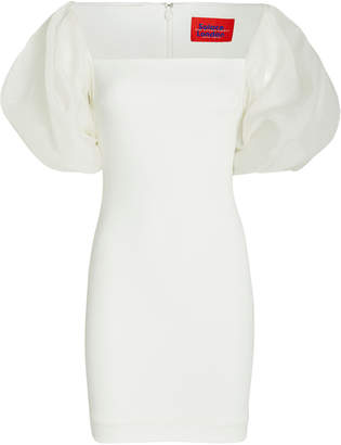 SOLACE London Ellice Puff Sleeve Mini Dress