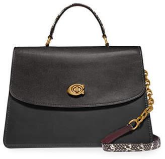 Parker Coach 1941 32 Exotic Top-Handle Bag