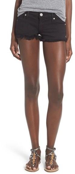 Denim Shorts Pockets Showing - ShopStyle Australia
